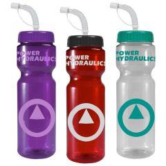 Awareness Budget 28 Oz. Bottle Straw Lid