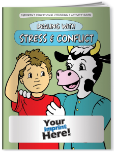 Dealing with Stress & Conflict Coloring Book