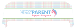 New Parent Support Program Convertible Table Throw