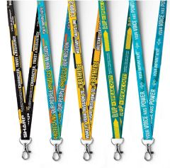 Awareness Satin Lanyard