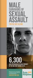 Male Survivors Of Sexual Assault Pamphlet