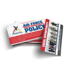 Air Force Equal Opportunity Wallet Card