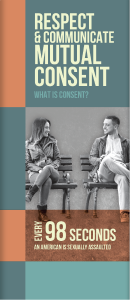 Respect & Communicate Mutual Consent Pamphlet