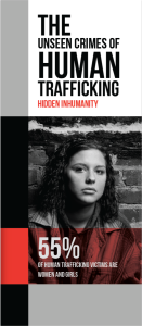 The Unseen Crimes of Human Trafficking Pamphlet