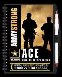 Army ACE Program Journal w/ Pen