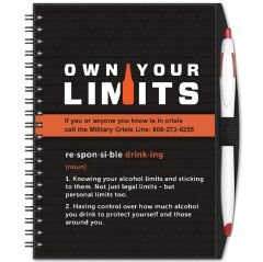 Own Your Limits Journal & Pen