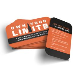 Own Your Limits Wallet Card