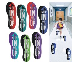 Step Up for Prevention Footprints (Set of 10)