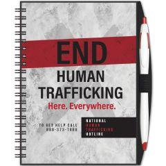Human Trafficking Journal  & Pen