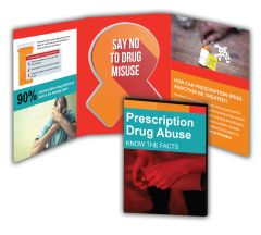 Prescription Drug Abuse Booklet with Awareness Ribbon Magnet