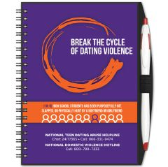 Safe Dating Journal & Pen