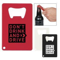 Don't Gamble Bottle Opener