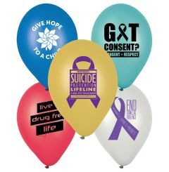 "11"" Awareness Balloons"