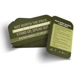 Educational Hazing Wallet Card