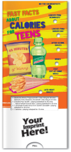 Fast Facts About Calories for Teens Pocket Slider