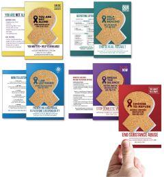 Awareness Ribbon Cork/Educational Card