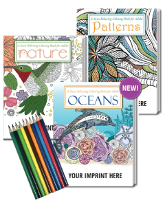 Awareness Adult Coloring Books with Color Pencils