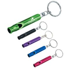 Safety Whistle Key Ring