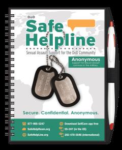 DoD Safe Helpline Journal w/ Pen