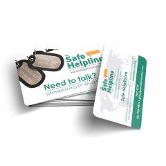 DoD Safe Helpline Wallet Card