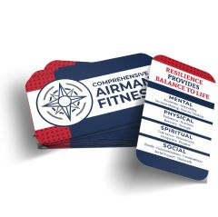 Comprehensive Airman Fitness Wallet Card