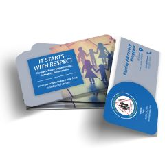Air Force Family Advocacy Program Wallet Card