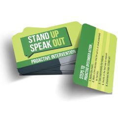 Proactive Bystander Wallet Card