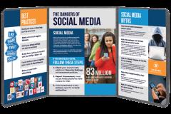 Dangers of Social Media Educational Board