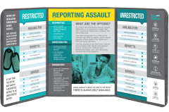 Sexual Assault Reporting Options Educational Board