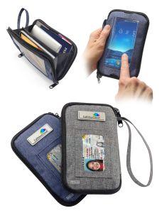 Smartphone RFID Clutch Bag