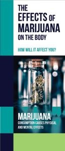 Marijuana - How It Affects the Body Pamphlet