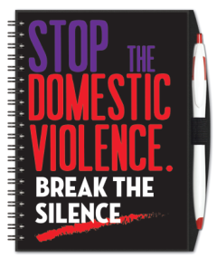 Domestic Violence Journal w/ Pen