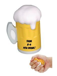 Think B-4 U Drink Mug Stress Reliever
