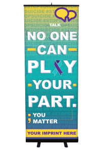 No One Can Play Your Part Banner