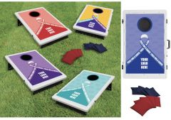 """Toss For A Cause"""" Bag Toss Game Kit"""