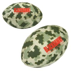 "3"" Digital Camouflage Football Stress Reliever"