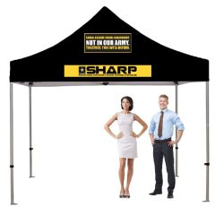 Standard 10' Tent Kit (Full-Color Imprint- Two Location)