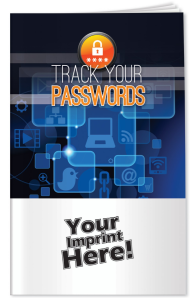 Track Your Passwords Booklet