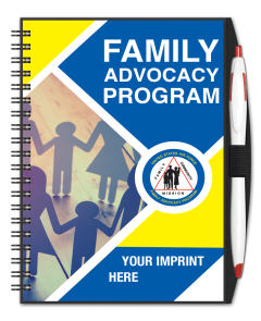 Air Force Family Advocacy Program Journal w/ Pen