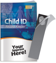 Child ID Record Keeper & Fingerprint Kit Booklet