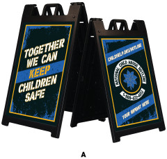 Keep Children Safe Deluxe Message Board