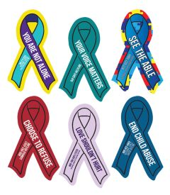 Ribbon Window or Bumper Sticker