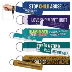 Awareness Wristband with Key Ring