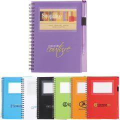 Business Card Notebook/Pen