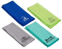 Copper-Infused Cooling Towel